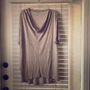Taupe sparkle comfy tunic